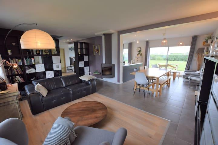 Maison proche mer, calme, plein sud, 160 m²