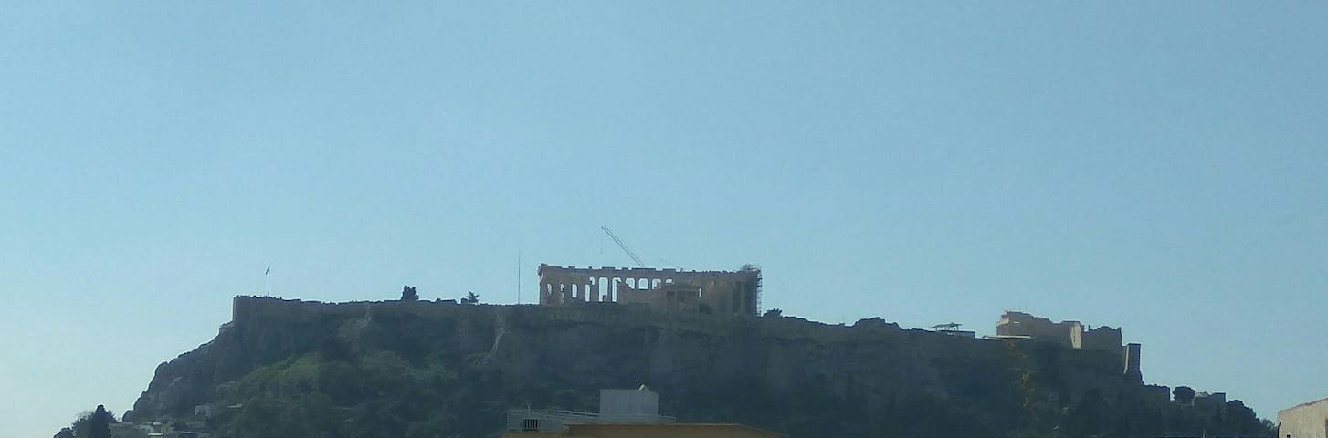 Athens Mini Loft View Parthenon