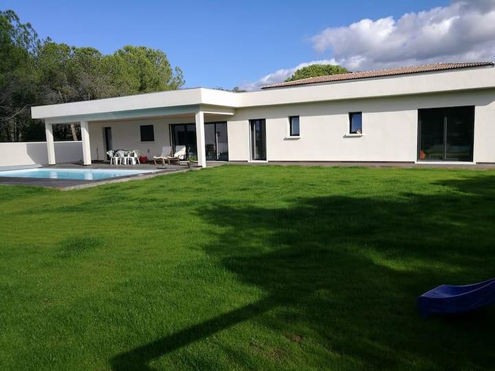 Villa Agosta Plage piscine chauffée