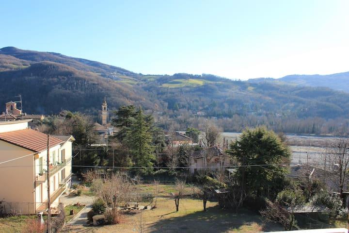 Comodo e tranquillo appartamento vista Valtrebbia