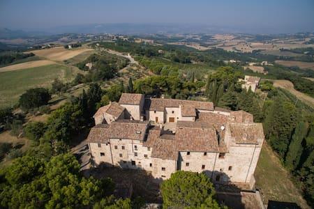 Saint Martin's Othodox Abbey in the Petroro Castle - Todi