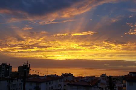 Ericeira sunset ocean jacuzzi  view - Ericeira