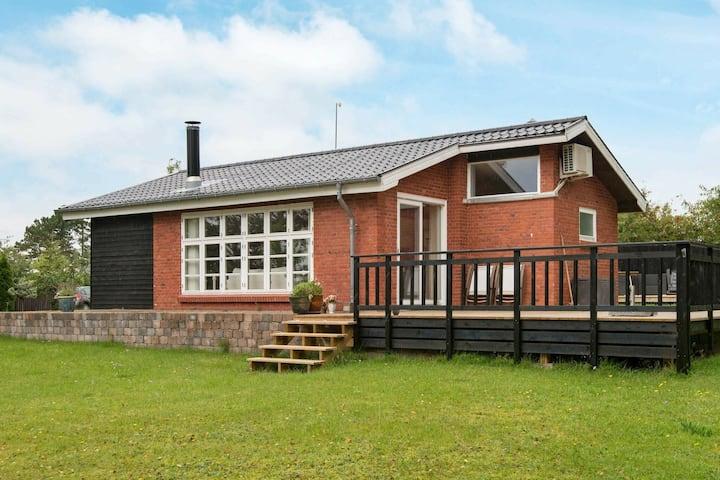 Luxe vakantiehuis in Ebeltoft met bubbelbad