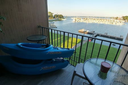 Waterfront/fish/kayak/paddle board - Montgomery - Kondominium