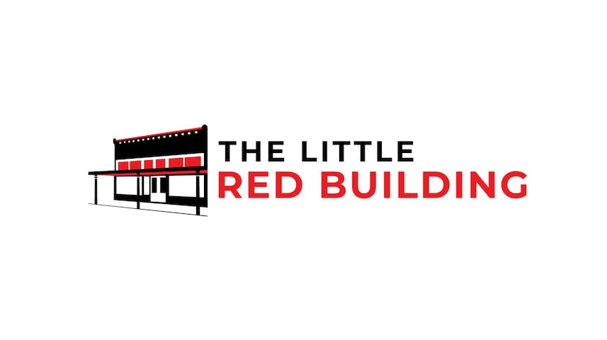 The Little Red  Building in Historic Downtown