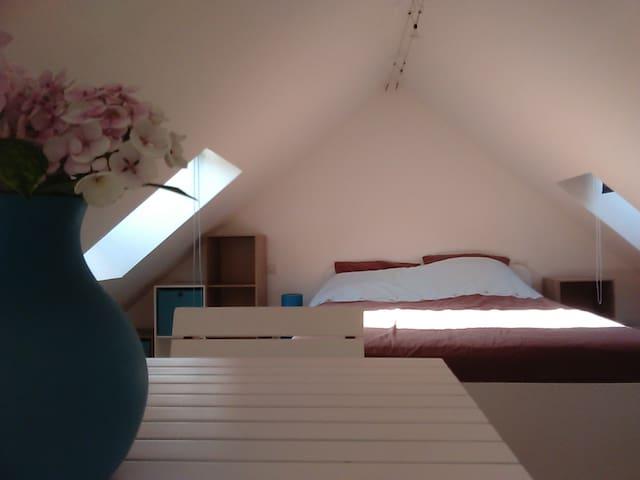 Studio mezzanine  au coeur du centre historique - Montreuil - Daire