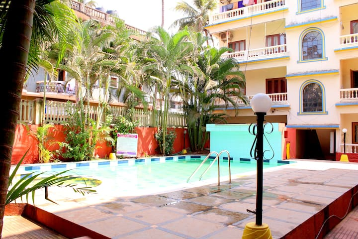 Calangute Alcove Luxury Apartment