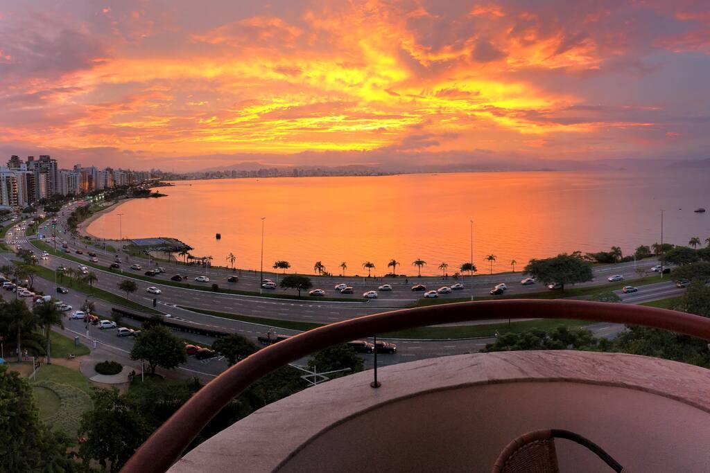 Vista Sacada - Pôr do sol