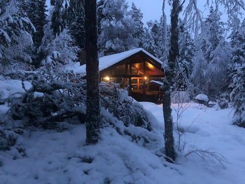 Trollstua - koselig hytte med badestamp i Aurskog.