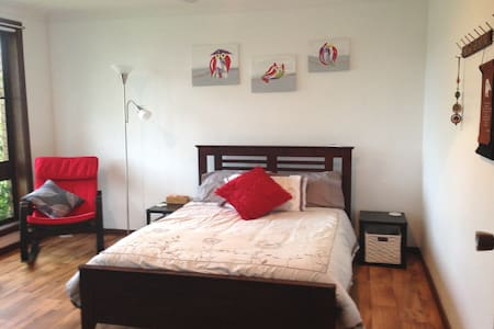 Wise Retreat - Bright, Airy Double Room - Tuncurry - Rumah
