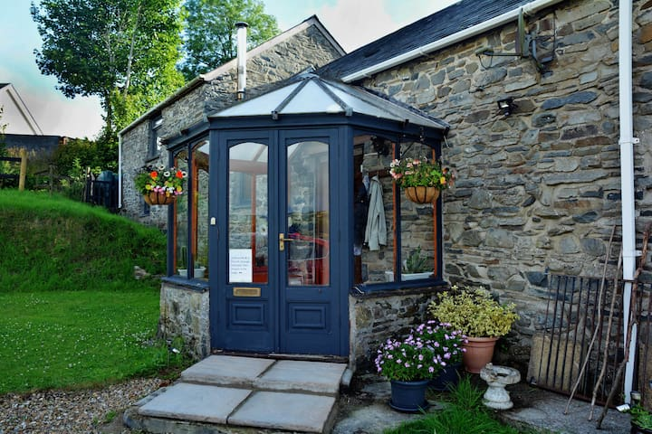 Horseshoe Cottage, a lovingly converted stone barn
