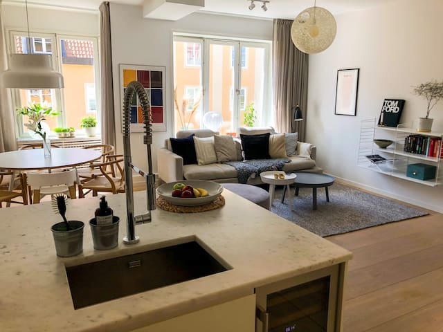 Luxury 2-bedroom in trendy SOFO/Södermalm