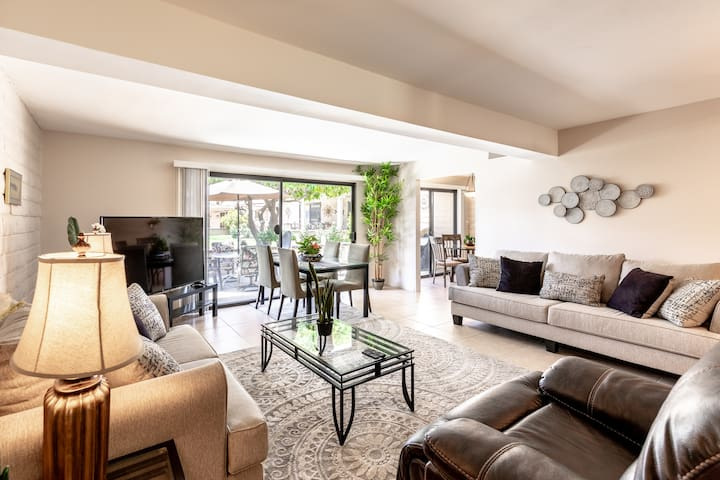 A+ MountainViews Quiet 2 bed 2 bath Gated Townhome