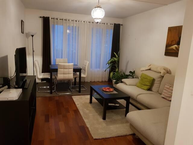 Appartement parisien convivial