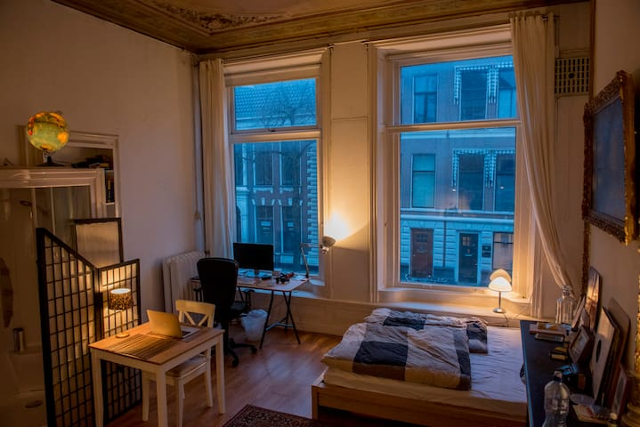Cozy Studio Apartment in the Heart of Groningen - Groningen - Daire