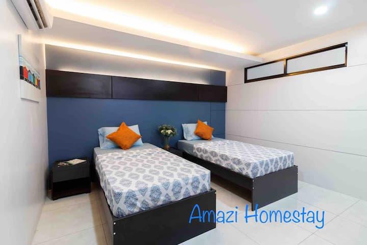 Amazi Homestay-Dumaguete Superior+27mbps+Near Mall