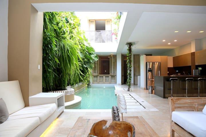 Car006-Luxury mansion in Cartagena (Old City) - Cartagena - Casa