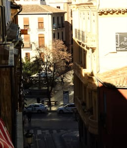 Charming room in the city center (plaza Nueva) - 格拉納達 - 公寓