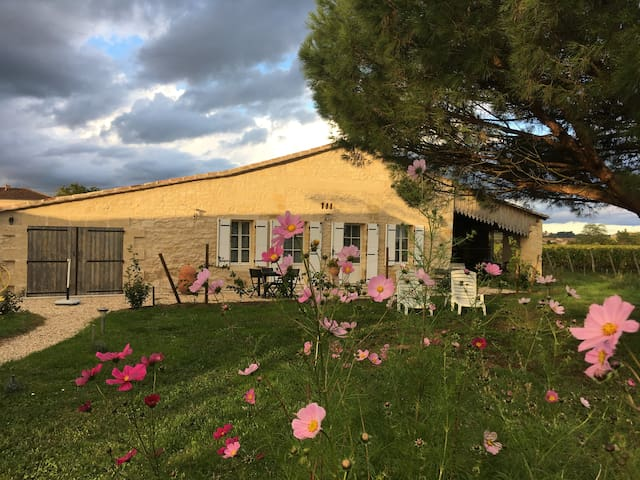 La Soleillade 2015 à 2 minutes de Saint Émilion.