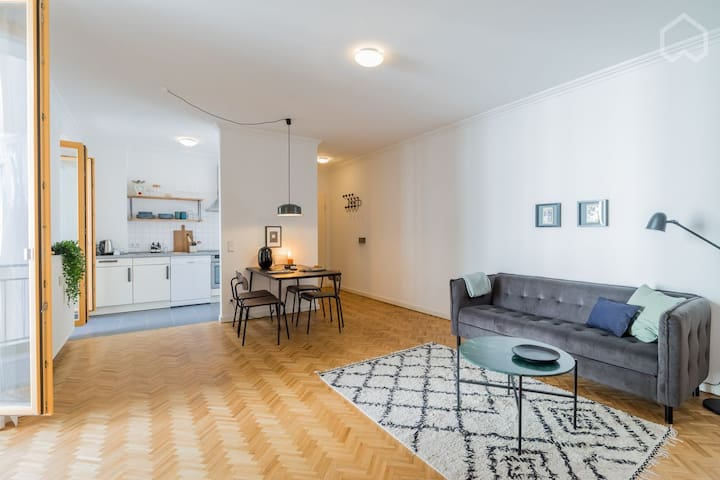 First occupancy: Quiet apartment w balcony PBerg