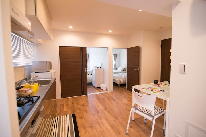 Luxury 2 bedrooms and great convenient location! - Kita-ku - Lejlighed