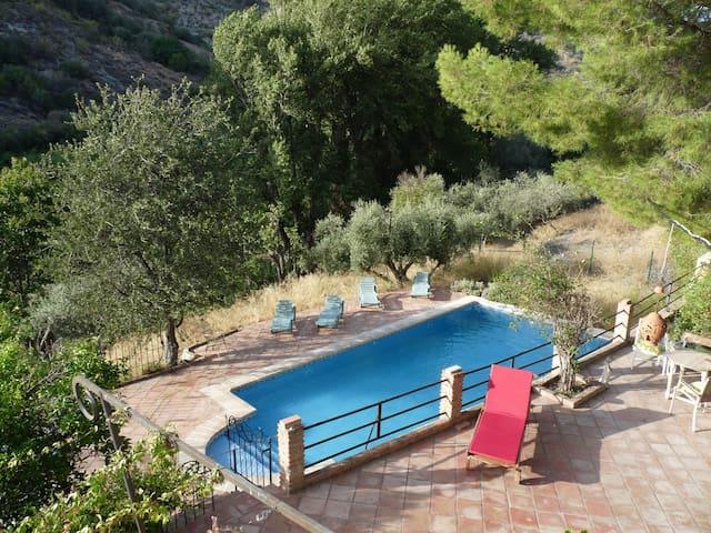 Swimming Pool. La Catitera. Las Alpujarras