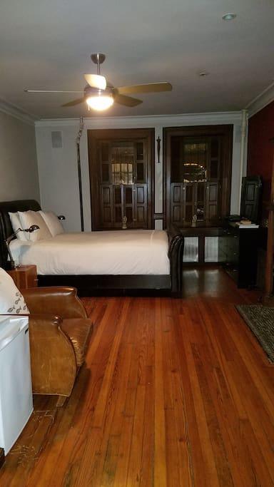 Red Room bedroom