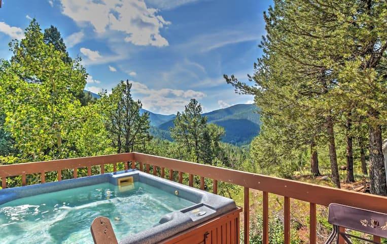 'Horseshoe Lodge' 2BR Divide Cabin w/Hot Tub - Divide - Cabin