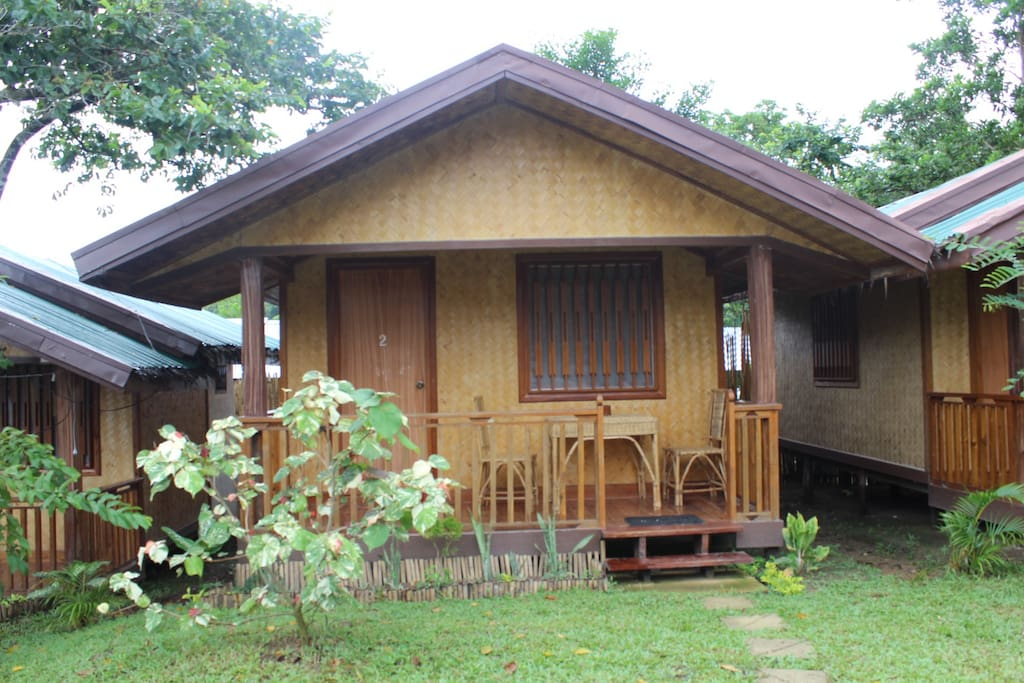 CED Villa # 2, with Queen size bed, private balcony & private toilet and bath