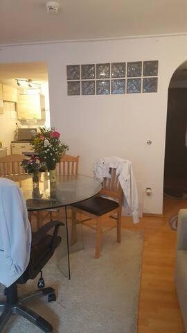 Zentrale 1Zimmer Wohnung für bis zu 8 Personen