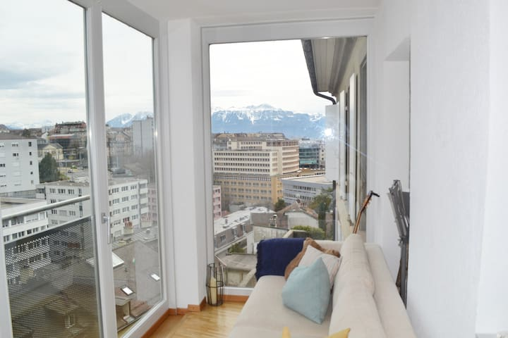 Beautiful Flat in the heart of Lausanne