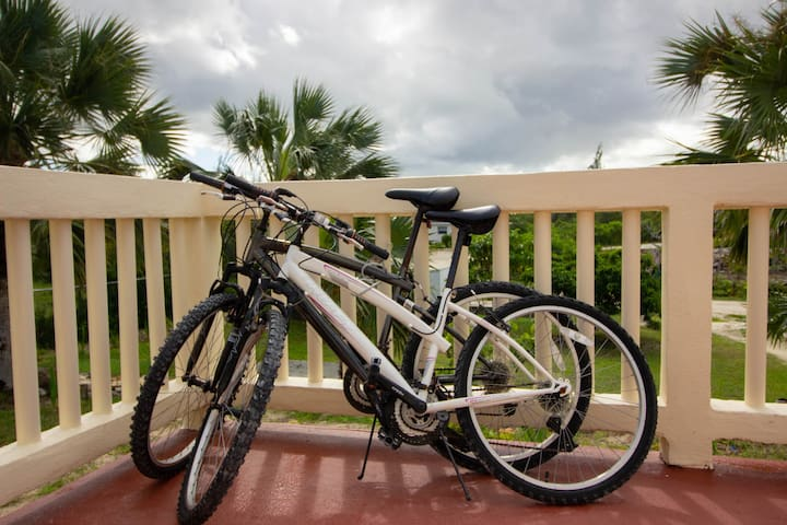 Two bikes for guest use