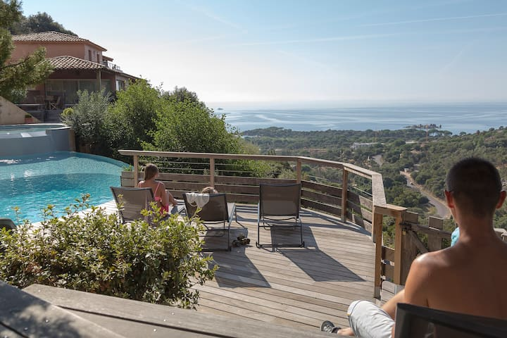 3 rooms Villa view Palombaggia & wide terrasse