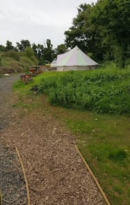 5m bell tent inc beds x4 - Cawsand