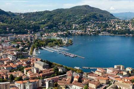 LAKE COMO BORGHI CENTRAL APARTMENT