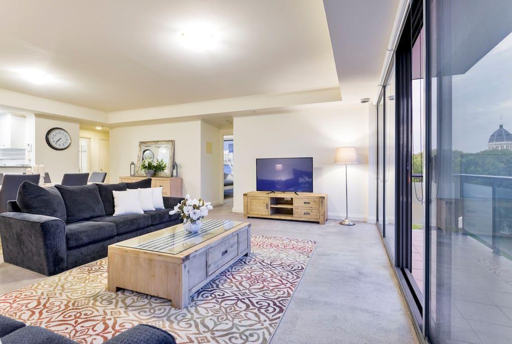 City 3 Bedroom 2 Bathroom Free Parking Apartments For Rent In Melbourne Victoria Australia