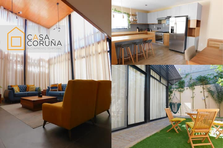 Casa Coruña Design, amplitude and perfect location