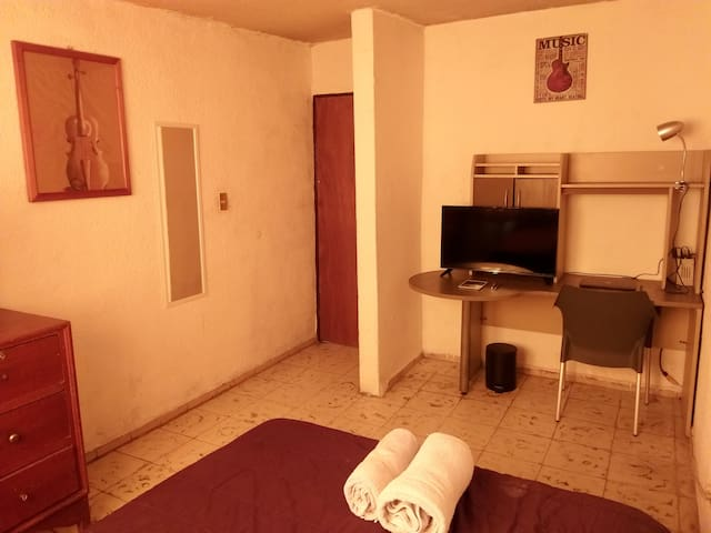 Habitación sencilla en Casa VINTAGE