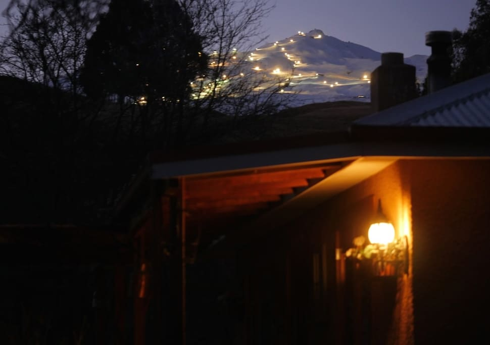 Beautiful night for a Night ski as seen from Jewel on Speargrass