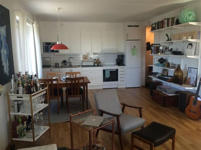Amazing apartment in a hipp area - Gothenburg - Daire
