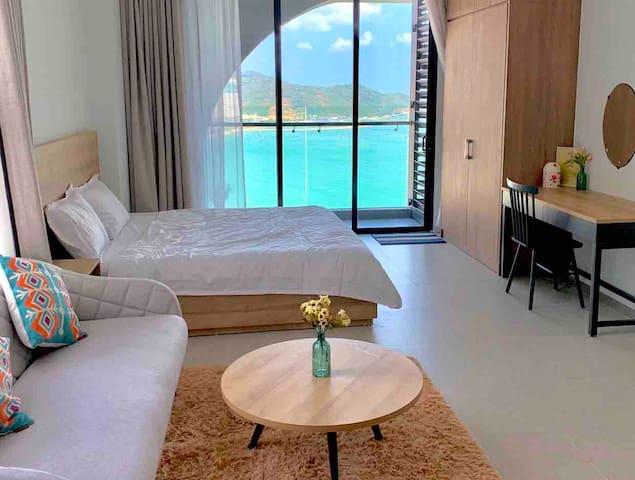 Apartment 2 Beds 5* Beach Front Sea View Nha Trang