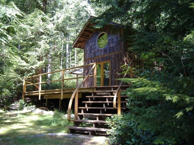 Cabin in forest nature retreat - Roberts Creek - Chalet