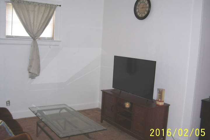 Living room  area with t.v.