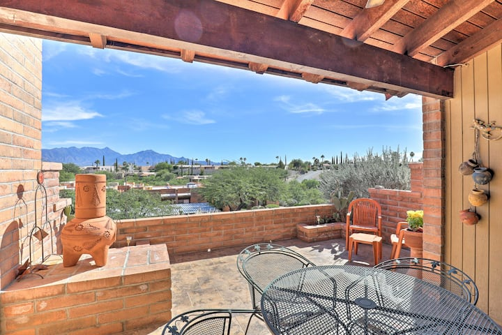Step-Free Green Valley Condo w/ Mtn Views & Patio!