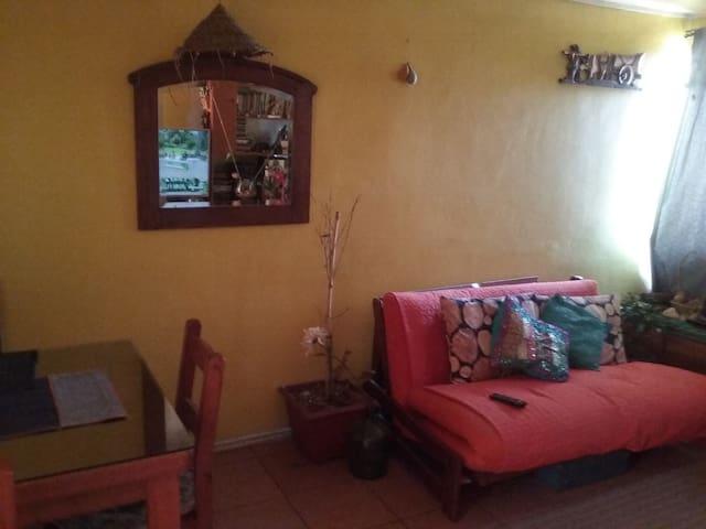 habitación en departamento zona sur - El Bosque - Lägenhet
