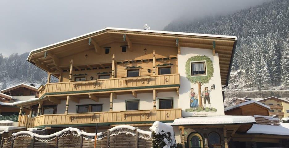 Ferienwohnungen Riedanger Zillertal Wohnung Penken