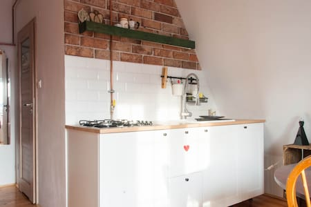 Attic apartment Old Town - 格但斯克(Gdańsk) - 公寓