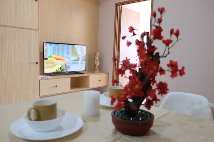 Sitting room New equipped by Air Conditioner ,  TV LED with great multiple channel