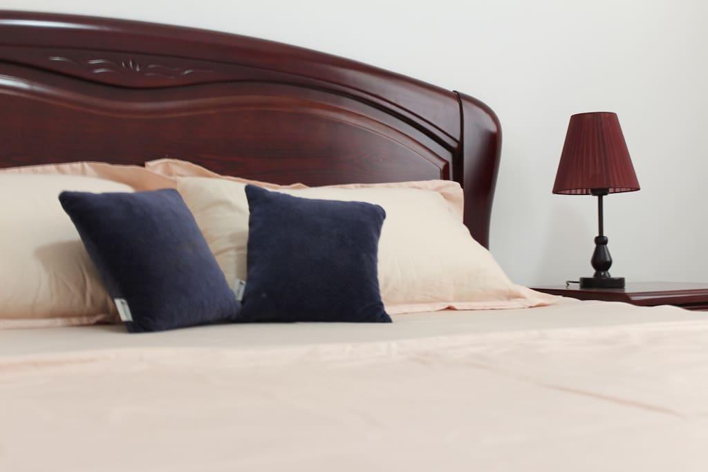 榴莲班长注重睡眠质量。每一件舒适的床上用品都经过反复的筛选。