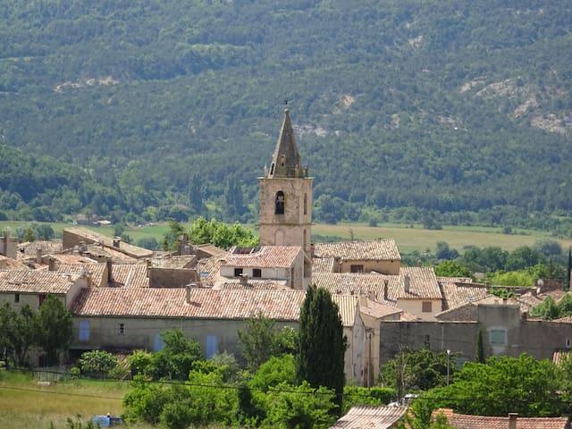 Maison de village en Provence - Saint-Étienne-les-Orgues - Casa